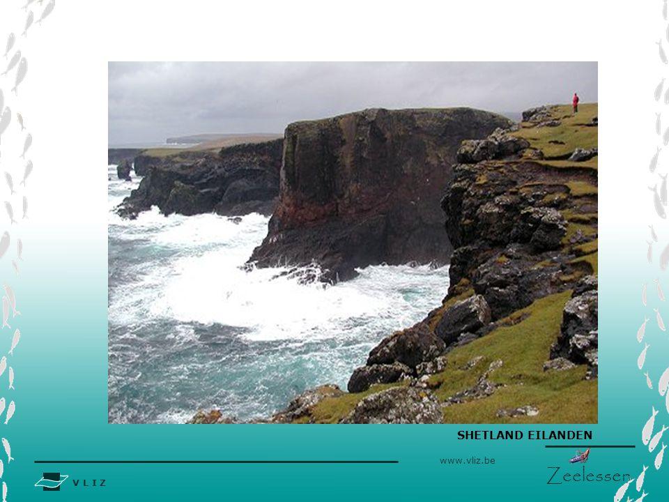 V L I Z www.vliz.be Zeelessen Landschap voor ijstijd Aarde warmt op, ijs smelt, zeespiegel stijgt.