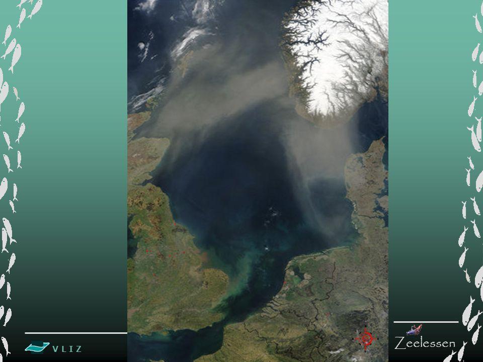 V L I Z www.vliz.be Zeelessen De Noordzee is een ondiepe zee Gemiddelde diepte is +/- 95 m Indeling volgens de diepte: 1.