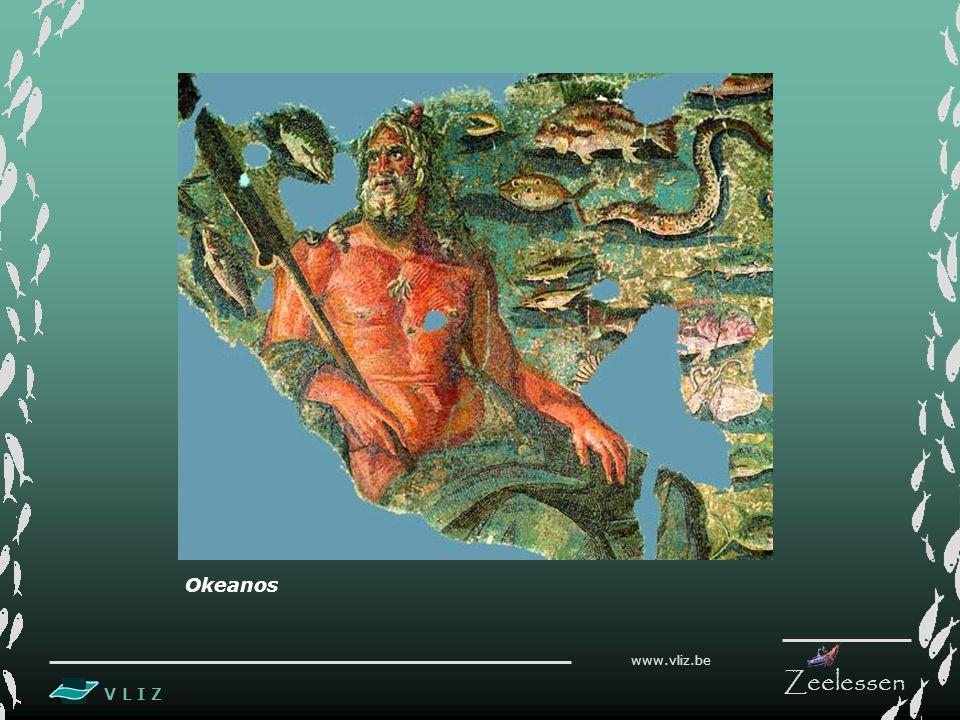 V L I Z www.vliz.be Zeelessen Inleiding De wereldzee wordt vandaag ingedeeld in vijf oceanen: De Stille of Grote Oceaan, de Indische Oceaan, de Atlantische Oceaan, de Zuidelijke Oceaan en de Arctische Oceaan.