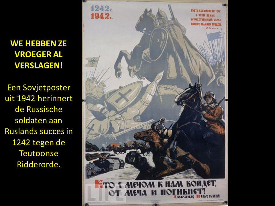 GEEN GENADE Partizanen verslaan de vijand zonder genade! - 1941. Russische propaganda VOORWAARTS! NAAR HET WESTEN!