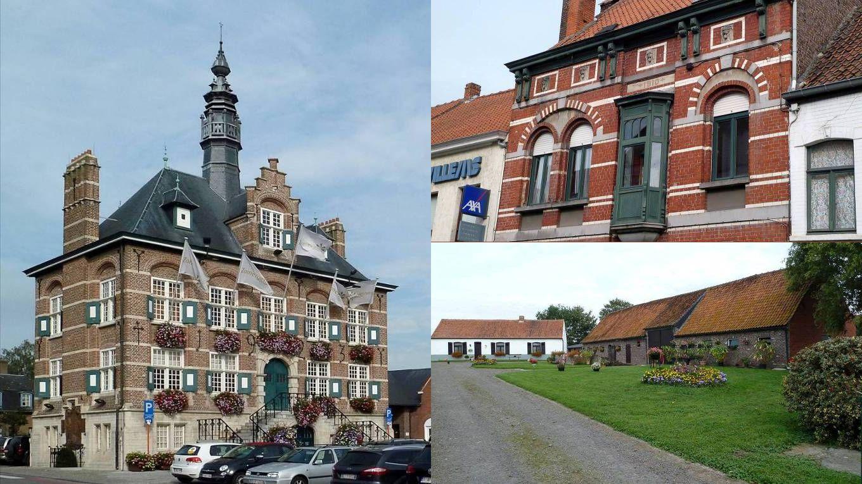 Na een tiental kilometer bereiken we Zomergem.