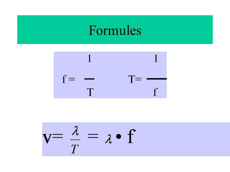 De longitudinale golven hebben een andere voortplantingssnelheid dan de transversale.