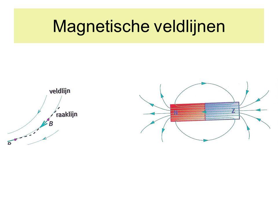 Magneet in de buurt van weekijzer