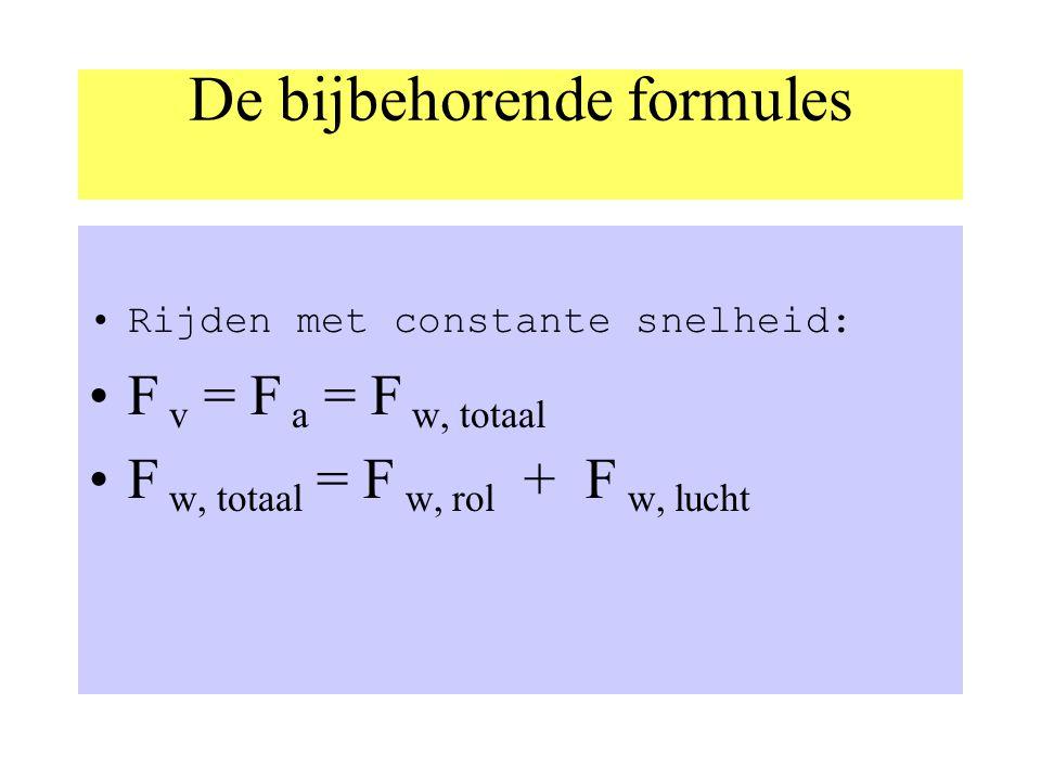 Drie soorten wrijvingskrachten: Schuifwrijvingskracht F w,schuif (hangt af van aard contactopp. en gewichtskracht. rolwrijvingskracht F w,rol (hangt a