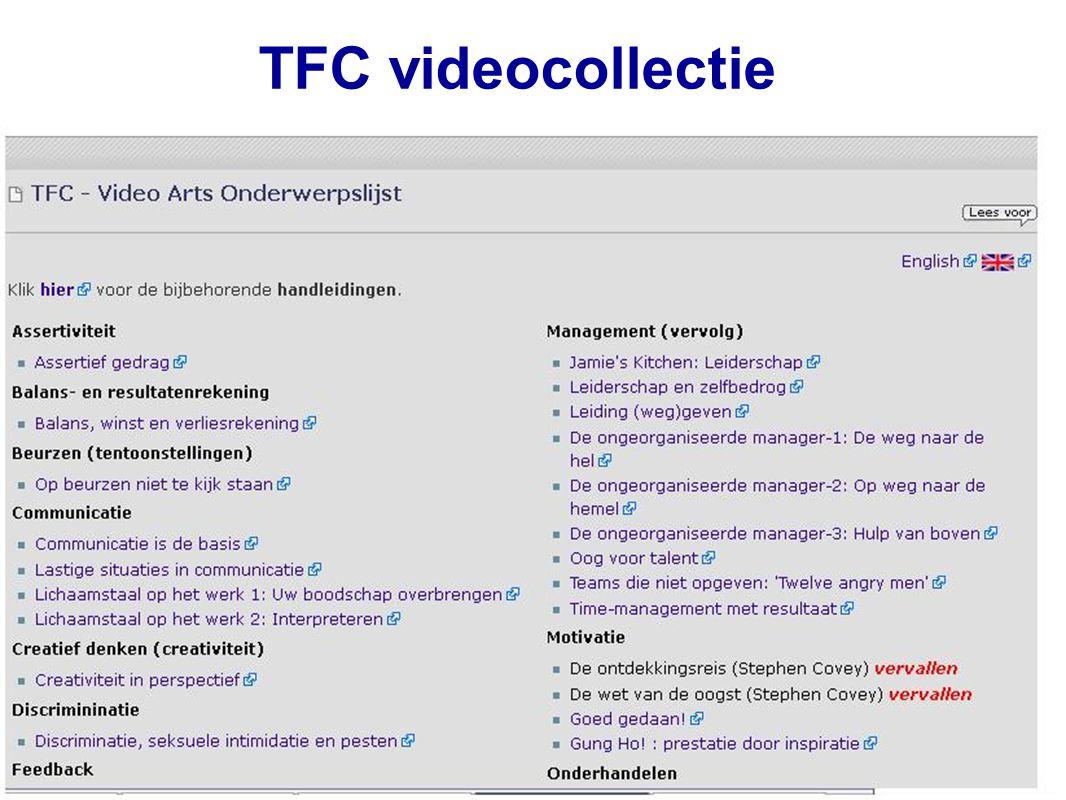 45 TFC videocollectie