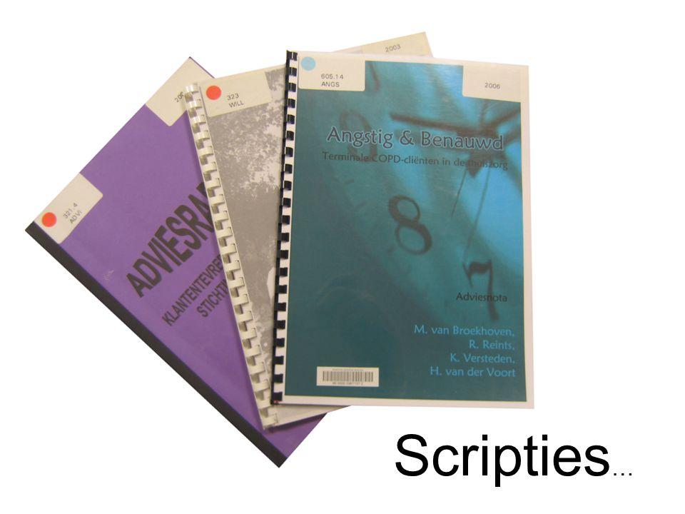 Scripties …