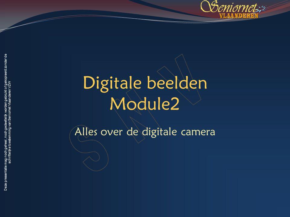 Deze presentatie mag noch geheel, noch gedeeltelijk worden gebruikt of gekopieerd zonder de schriftelijke toestemming van Seniornet Vlaanderen VZW Voorjaar 2009 Digitale Beelden 3 Wat leren we vandaag.