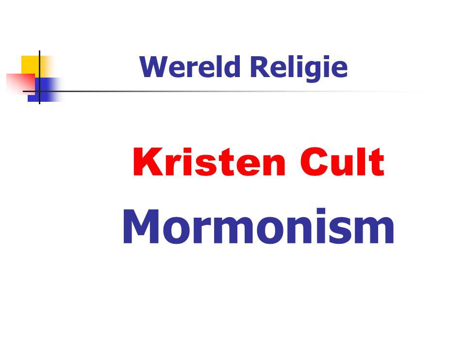 Wereld Religie Kristen Cult Mormonism