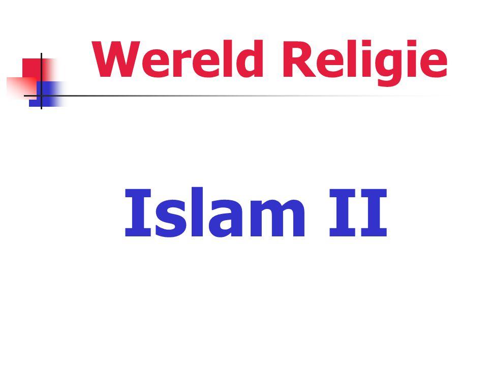 Wereld Religie Islam II