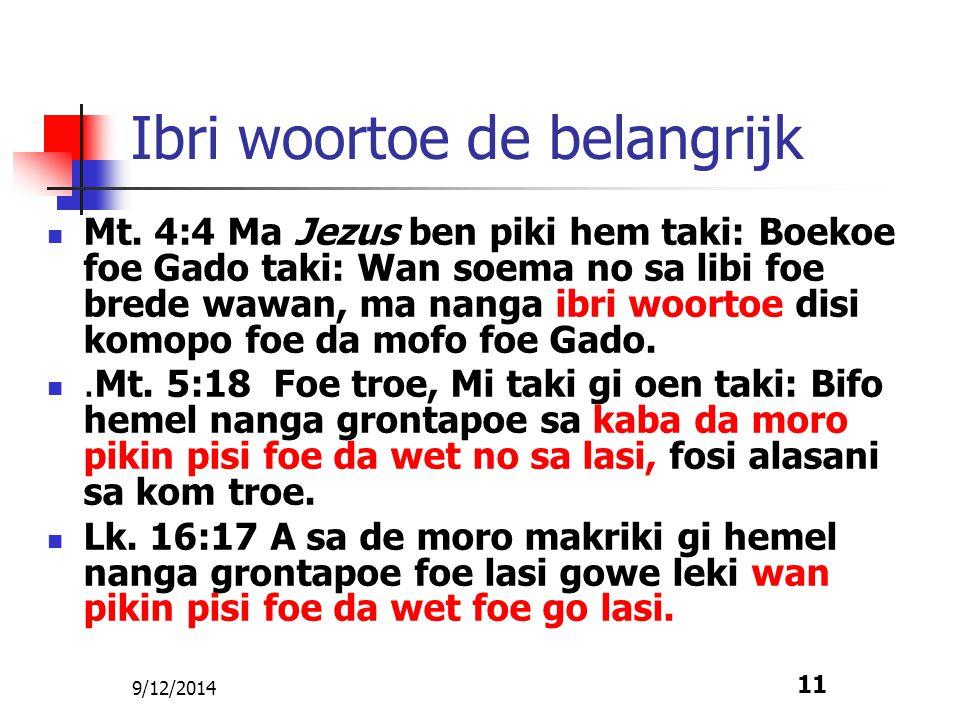 9/12/2014 12 Gado kibri Hem woortoe toe.Jes.