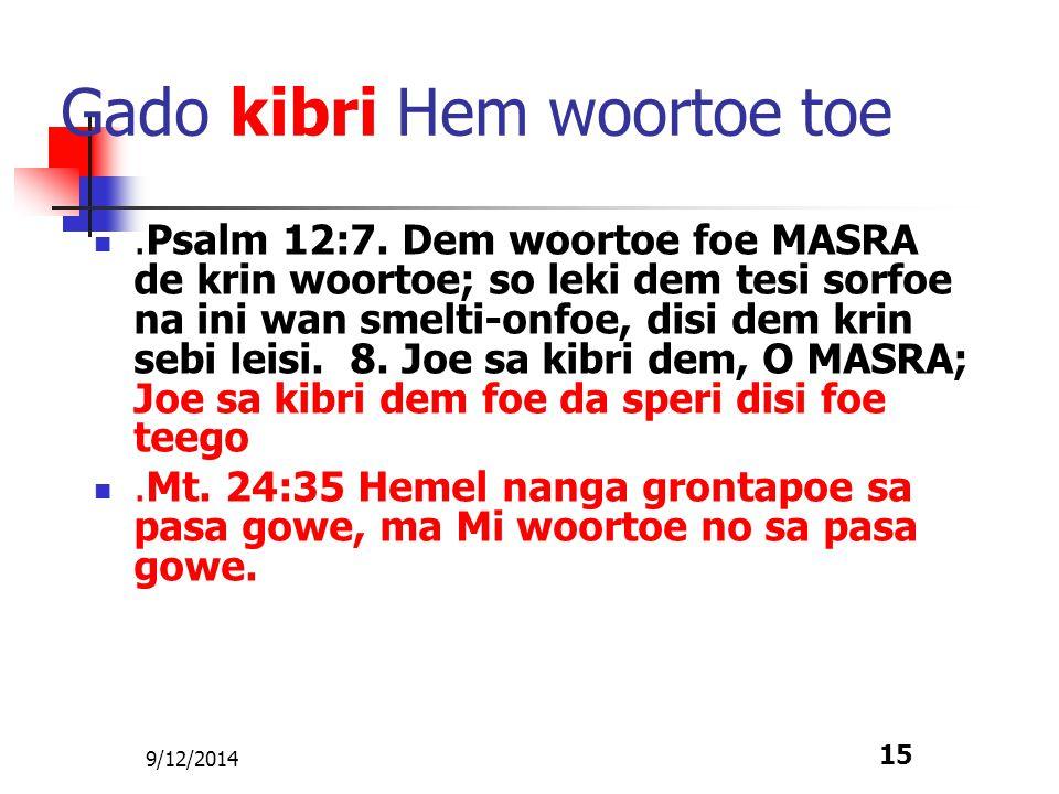 9/12/2014 16 Fa wi kisi wi tekst.