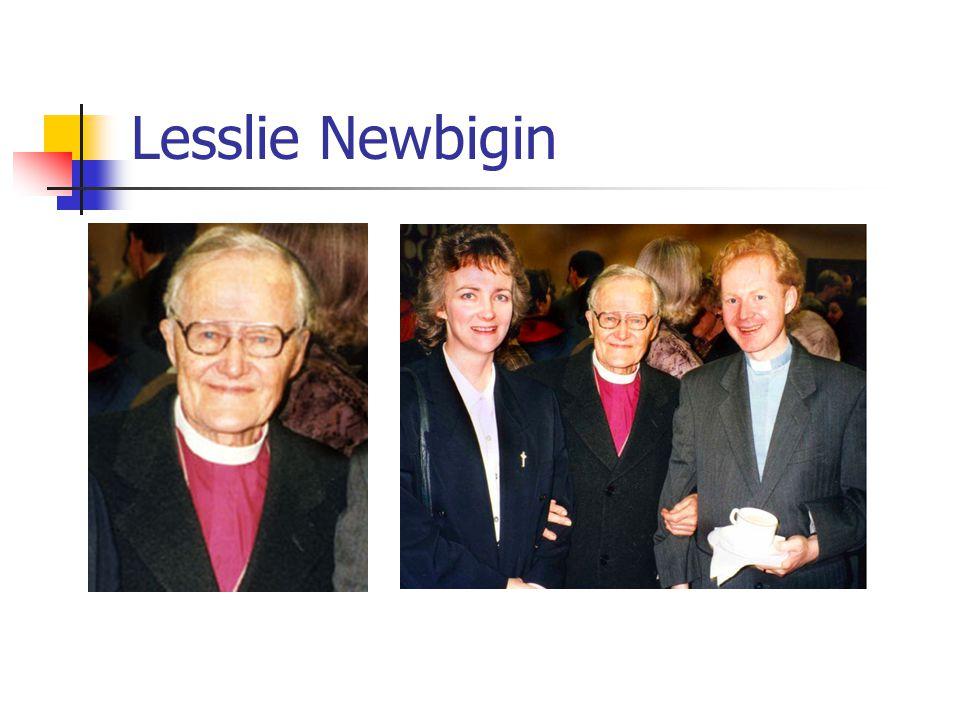 Lesslie Newbigin