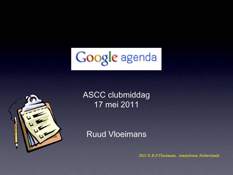 ASCC clubmiddag 17 mei 2011 Ruud Vloeimans 2011 © R.P.Vloeimans, Amstelveen, Netherlands