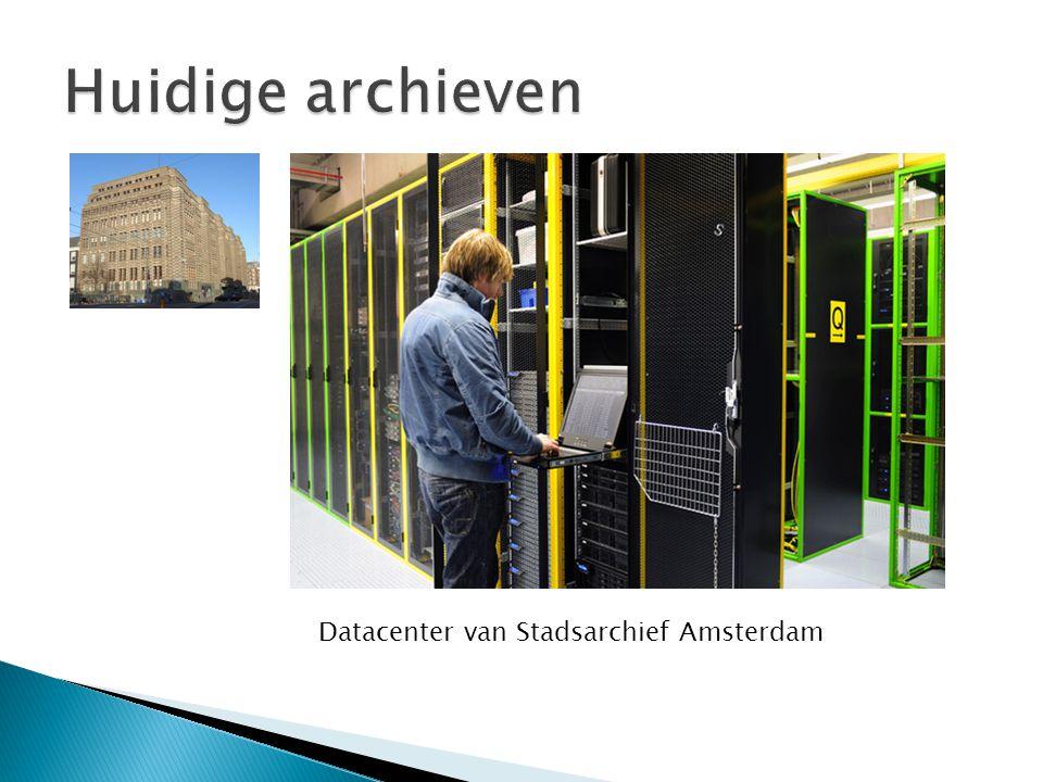  Zijn (bijna) allemaal digitaal  Hebben allemaal een website  Veel archieven hebben kopieermogelijkheden ◦ Fysiek in het archief ◦ Via website kopie maken van akten