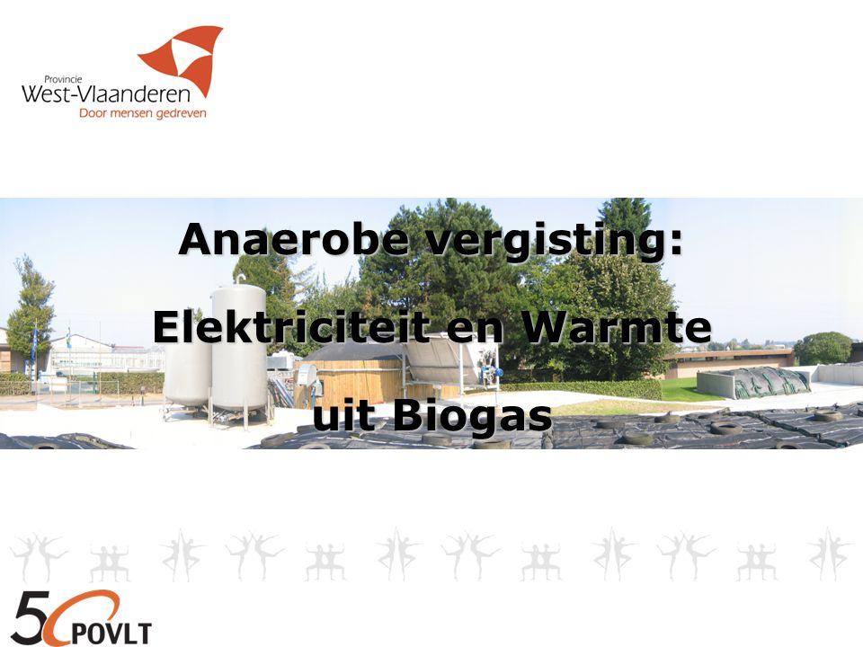 Anaerobe vergisting: Elektriciteit en Warmte uit Biogas
