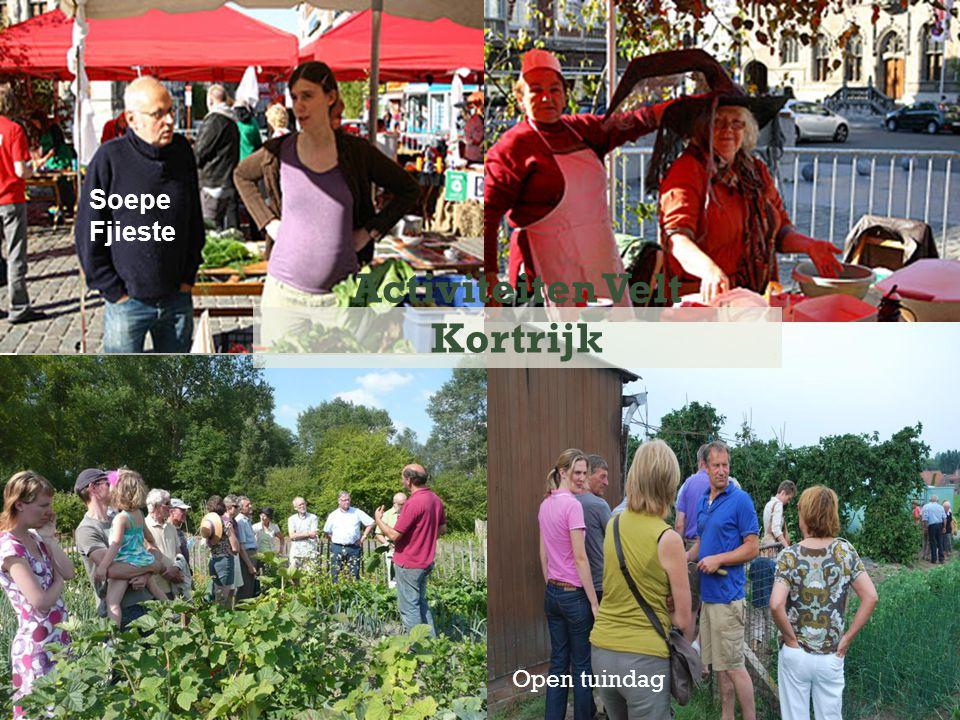 Open tuindag Activiteiten Velt Kortrijk Soepe Fjieste