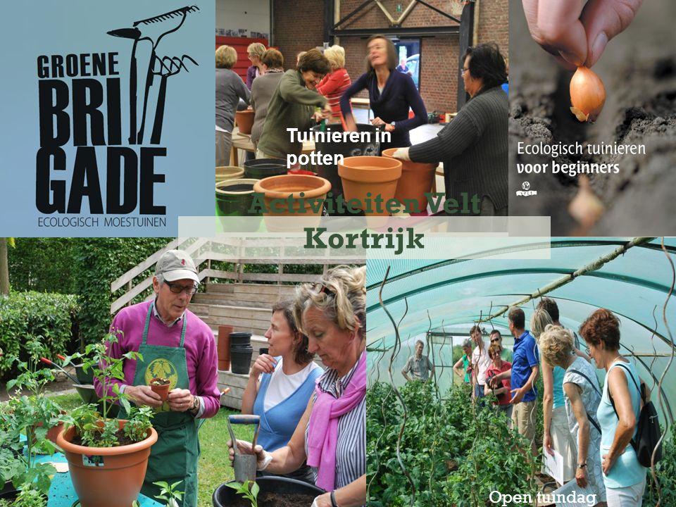 Open tuindag Activiteiten Velt Kortrijk Tuinieren in potten