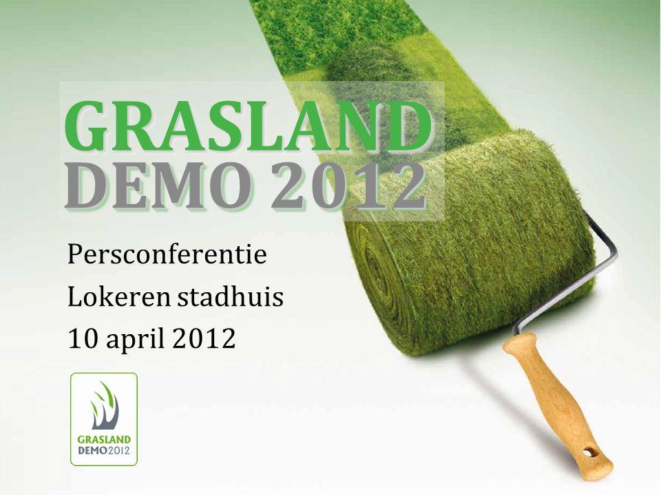 Persconferentie Lokeren stadhuis 10 april 2012 GRASLANDGRASLAND DEMO 2012