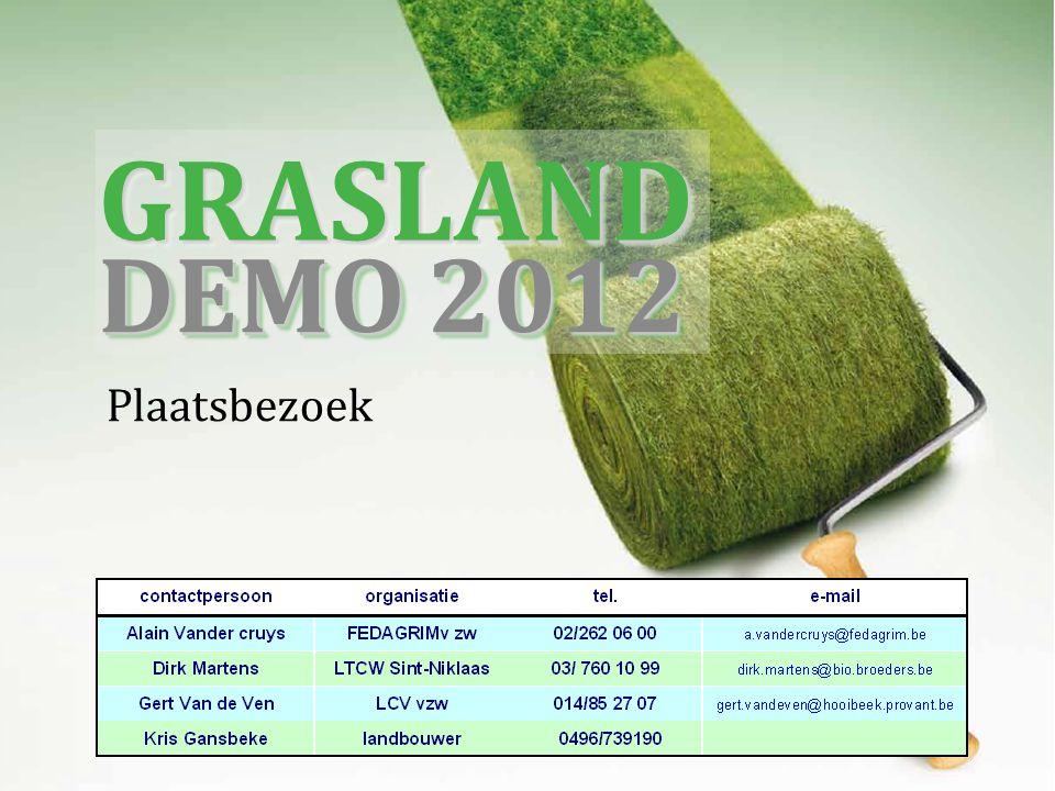 Plaatsbezoek GRASLANDGRASLAND DEMO 2012