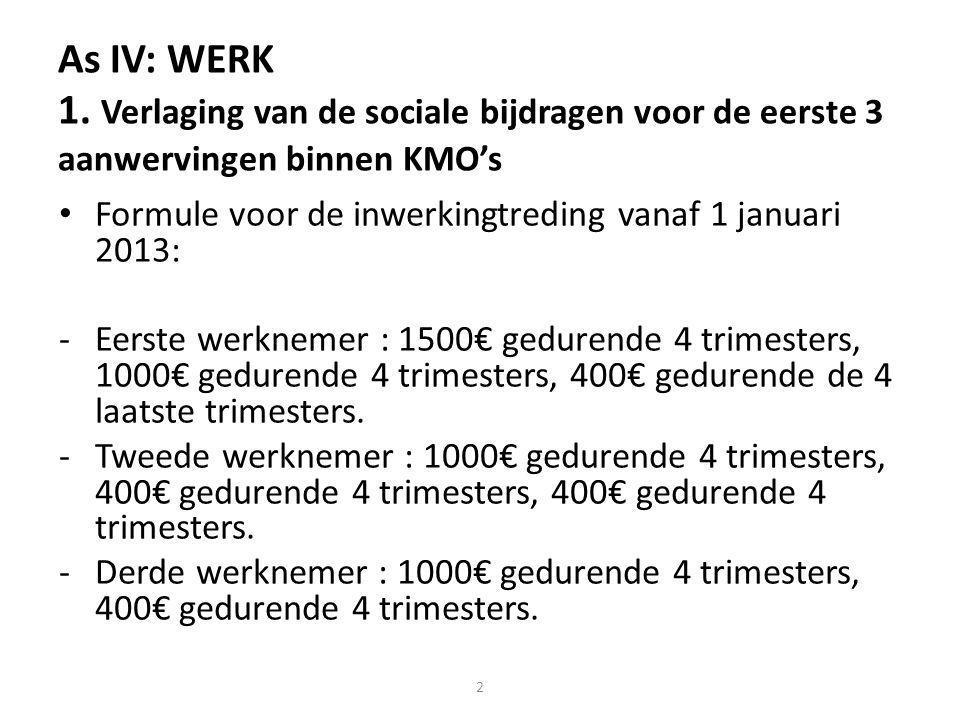 As IV: WERK 1.