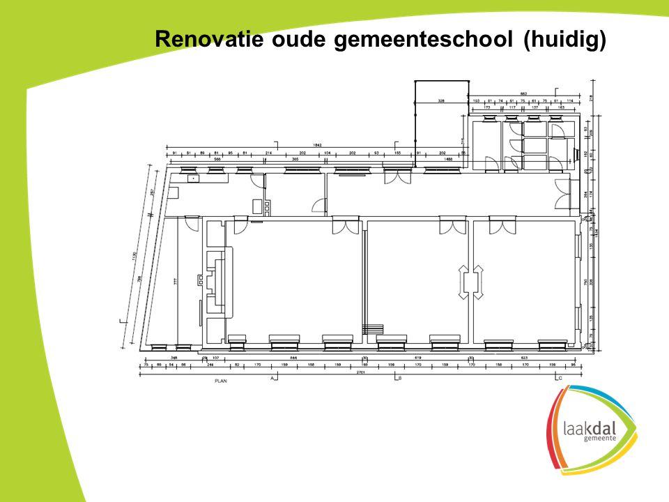 Renovatie oude gemeenteschool (huidig)