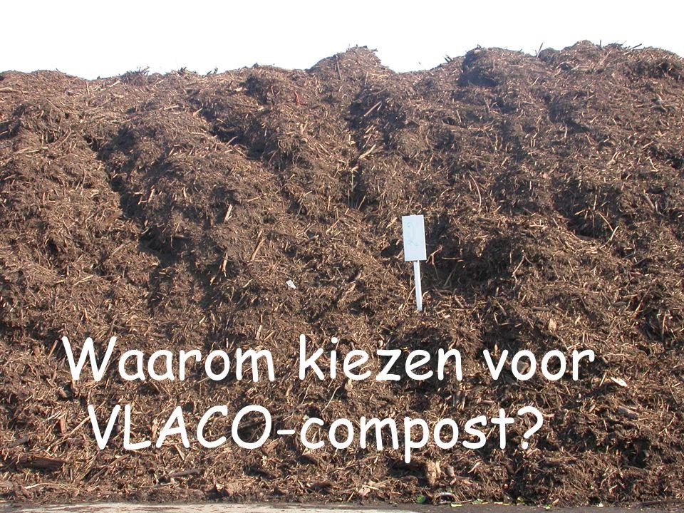 VLAAMSE COMPOSTORGANISATIE VZW Waarom kiezen voor VLACO-compost?