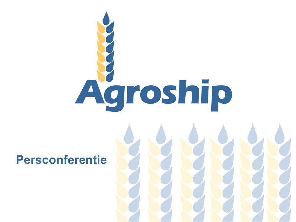 Inhoudsopgave 1.Achtergrond 2.Doelstelling van Agroship 3.De projectpartners 4.Plan van Aanpak