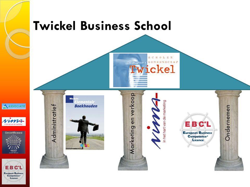 Ondernemen Marketing en verkoop Administratief Twickel Business School