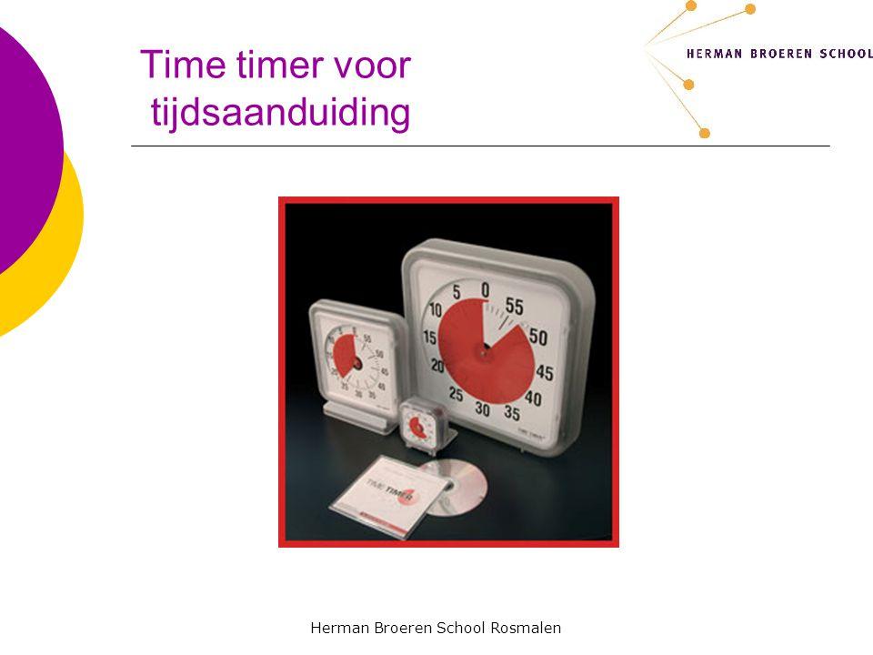 Herman Broeren School Rosmalen Time timer voor tijdsaanduiding