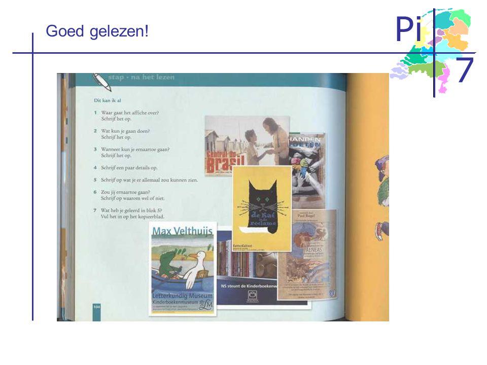 Pi 7 Goed gelezen!