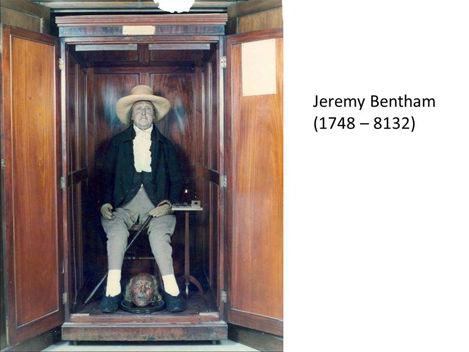 Jeremy Bentham (1748 – 8132)