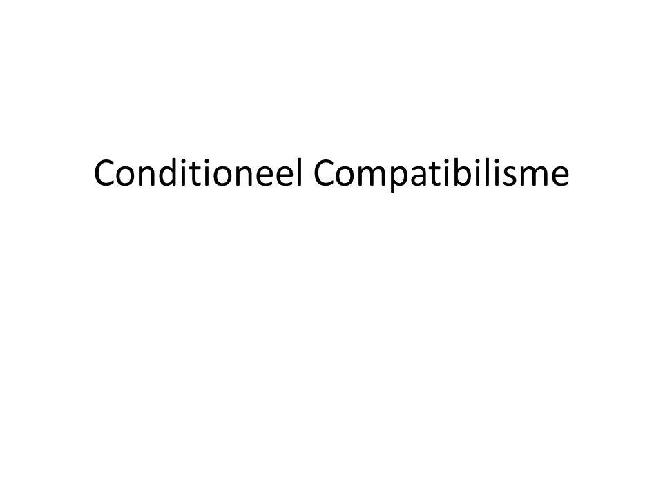 Conditioneel Compatibilisme