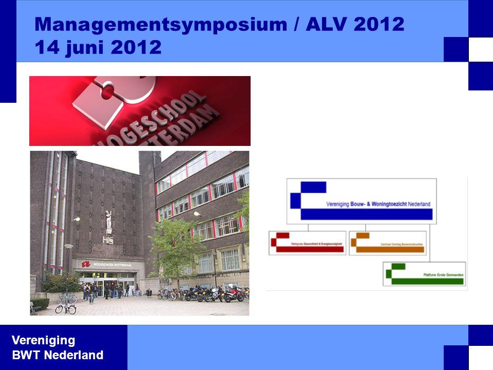 Vereniging BWT Nederland Bestuursleden Benoeming 12 Laura Zûm Grotenhoff Constructeur gemeente Almelo