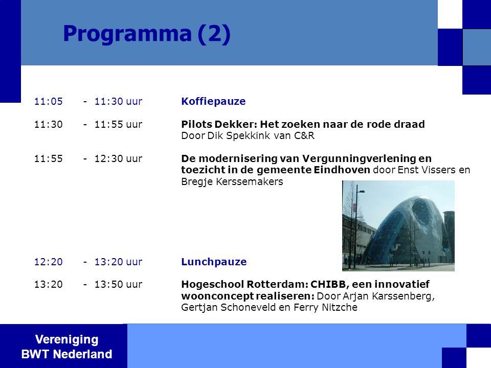 Vereniging BWT Nederland