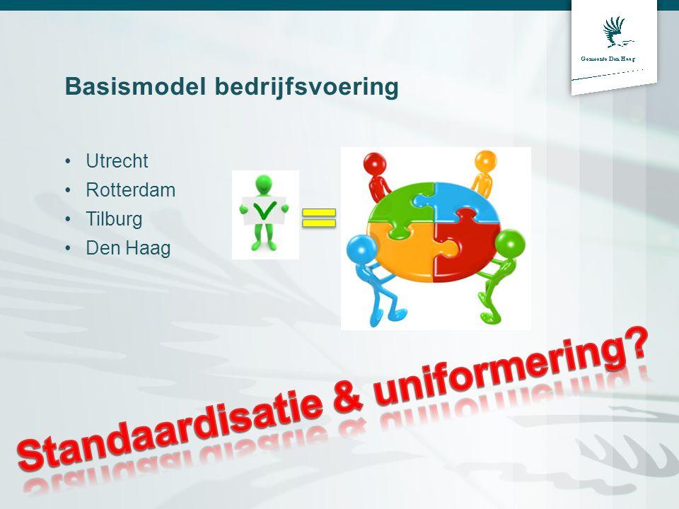 Basismodel bedrijfsvoering Utrecht Rotterdam Tilburg Den Haag