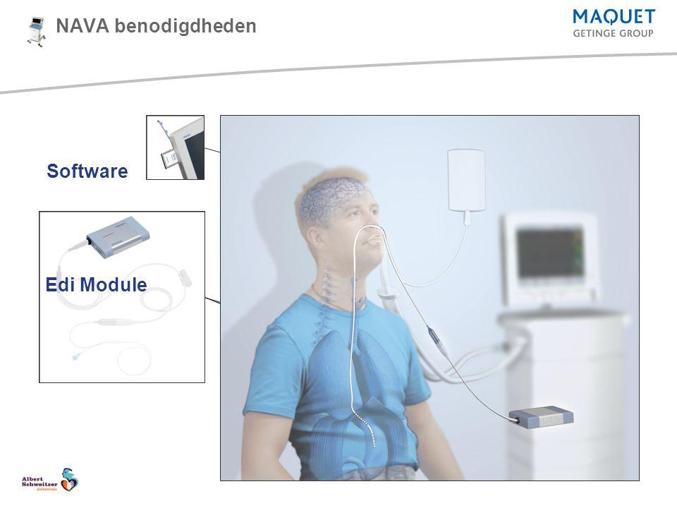 Edi Catheter NAVA benodigdheden Edi Cable Software Edi Module