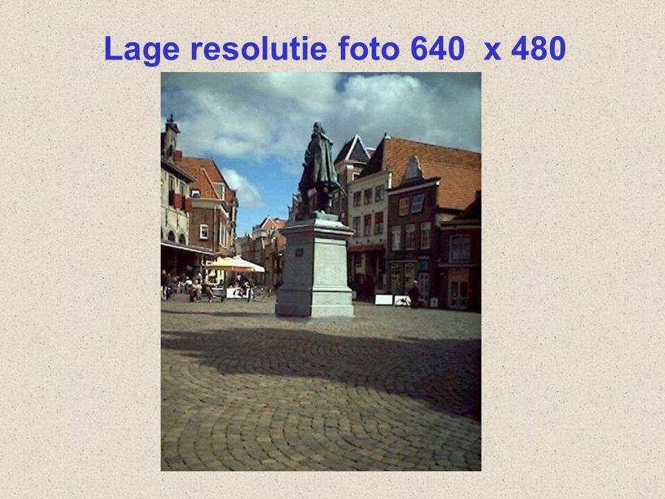 Hoge resolutie foto 2592 x 1944