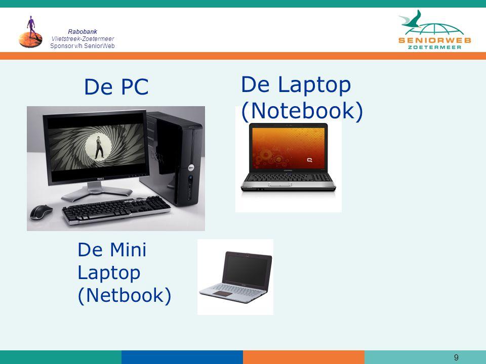 Rabobank Vlietstreek-Zoetermeer Sponsor v/h SeniorWeb 10 De printer/scanner