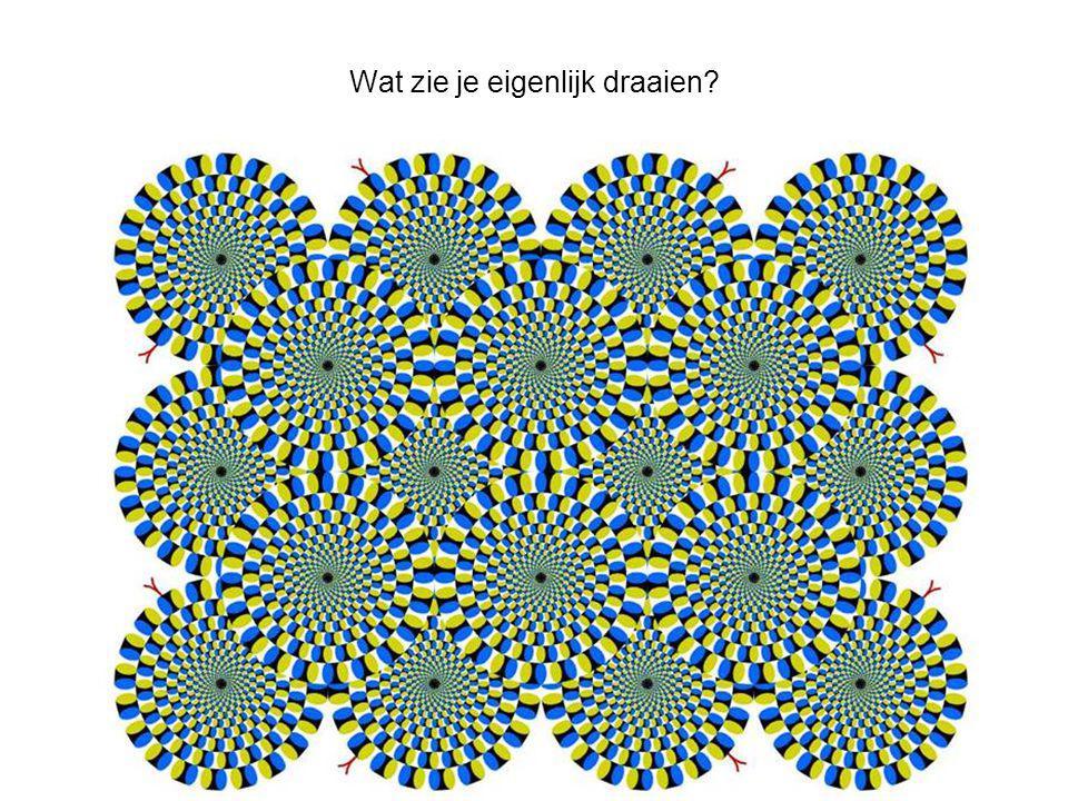 Wat zie je eigenlijk draaien?