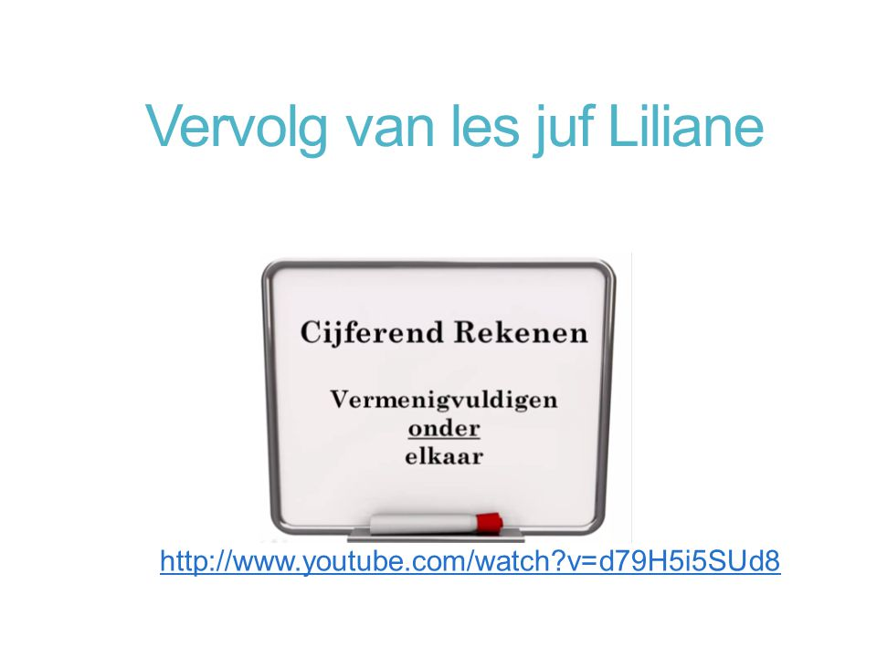 Vervolg van les juf Liliane http://www.youtube.com/watch?v=d79H5i5SUd8