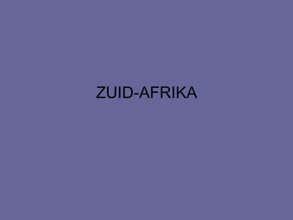 ZUID-AFRIKA REGIO IN BEELD NATUUR: –LIGGING –KLIMAAT –LANDSCHAP