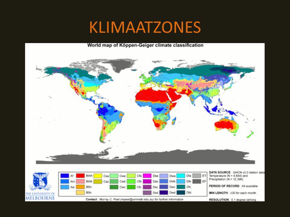 KLIMAATZONES