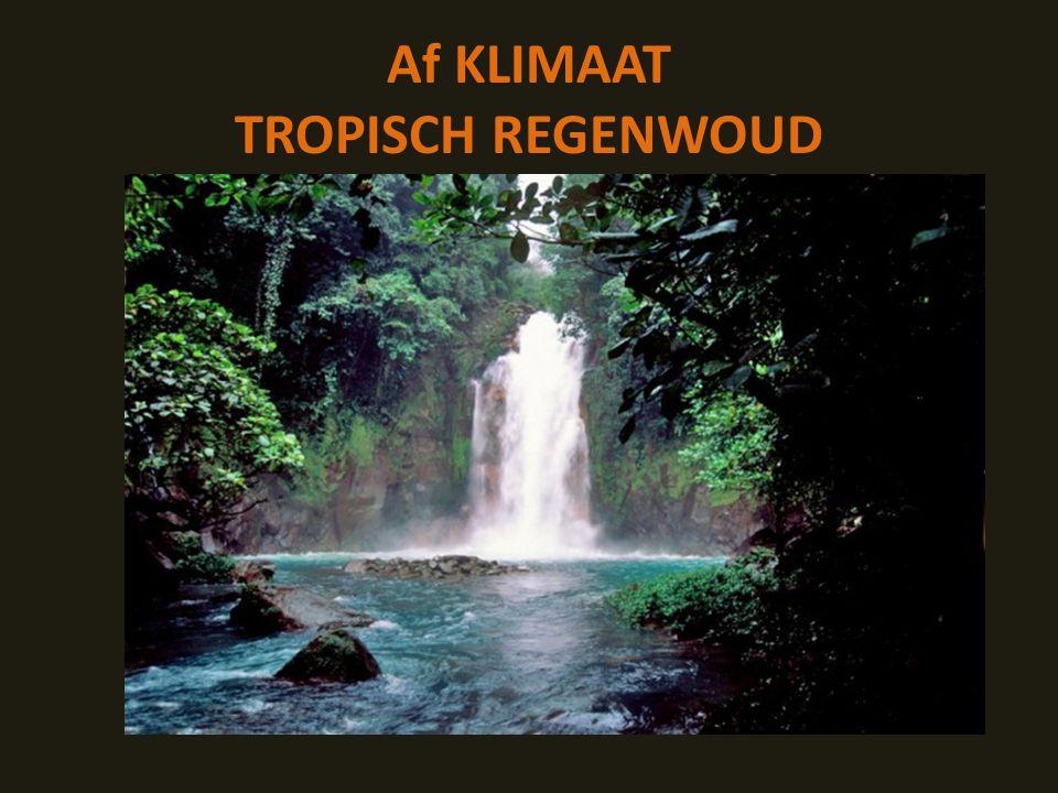 Af KLIMAAT TROPISCH REGENWOUD