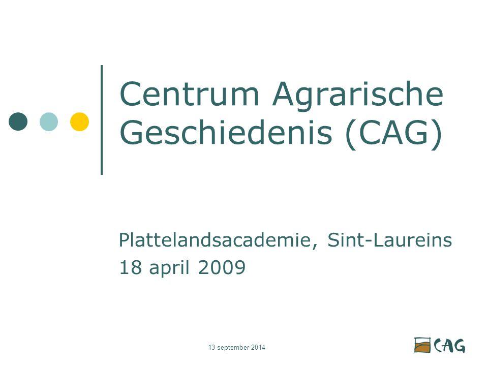 13 september 2014 Basispeilers expertisecentrum CAG Expertise opbouw SteunpuntPubliekswerking