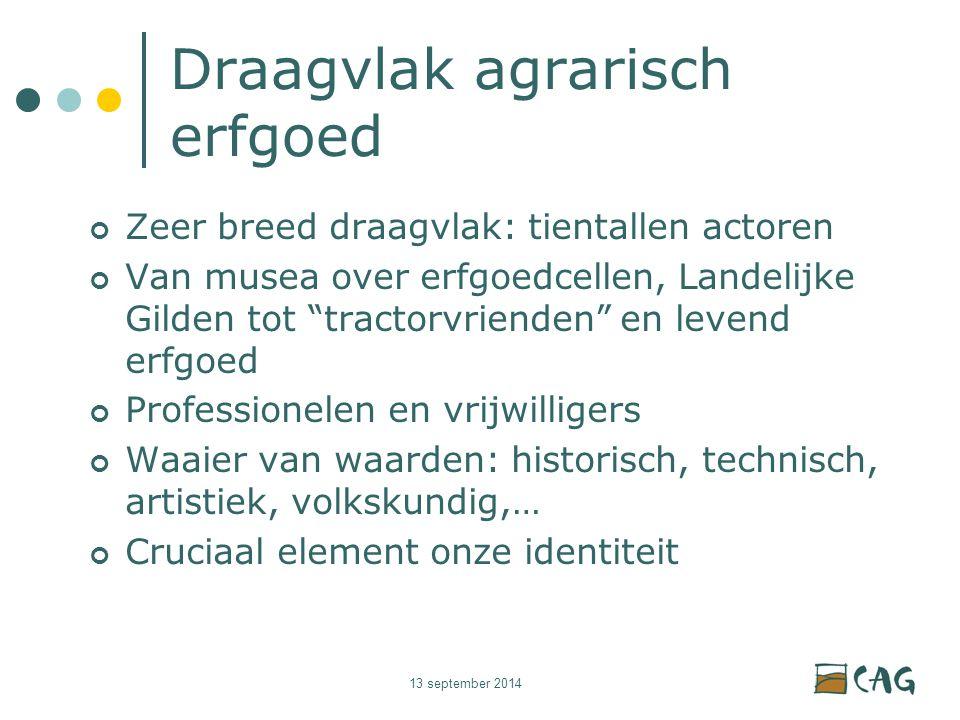 13 september 2014 Publiekswerking Tentoonstellingen: vast of rondreizend Overkoepelende projecten: genre Lekker Dier?!; Rodekool Lezingen Workshops