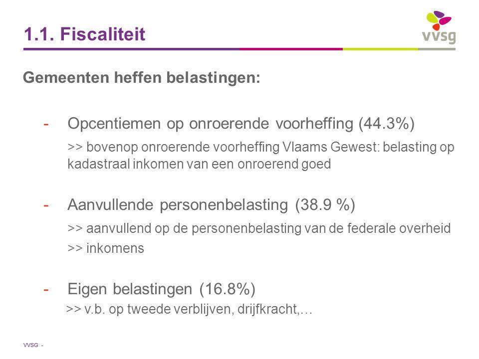 VVSG - Fiscale rijkdom