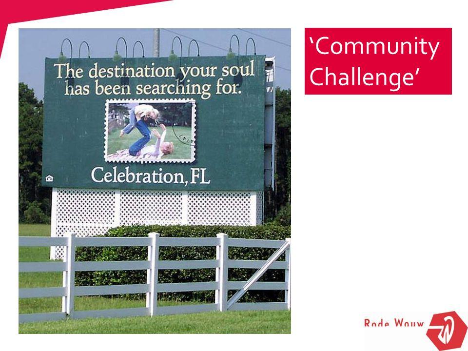 'Community Challenge' Cambio, onderhoud, schoonmaak Coach van het Alledaagse zorg, dienstverlening