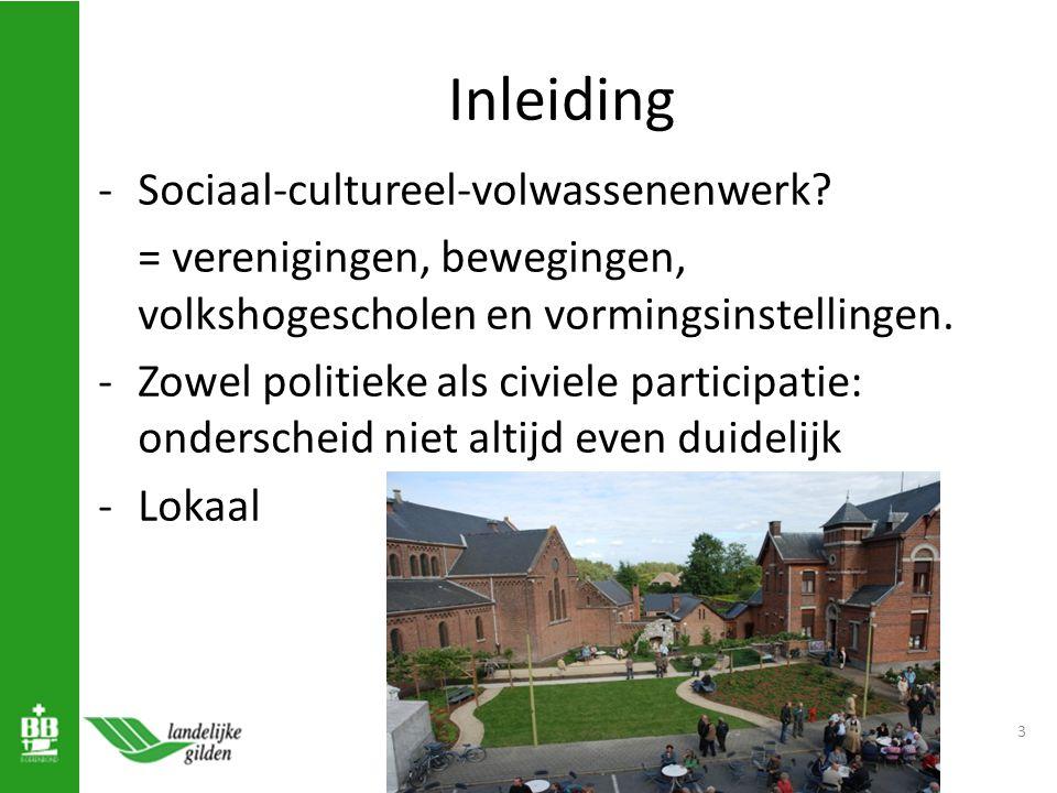 Inleiding -Sociaal-cultureel-volwassenenwerk.