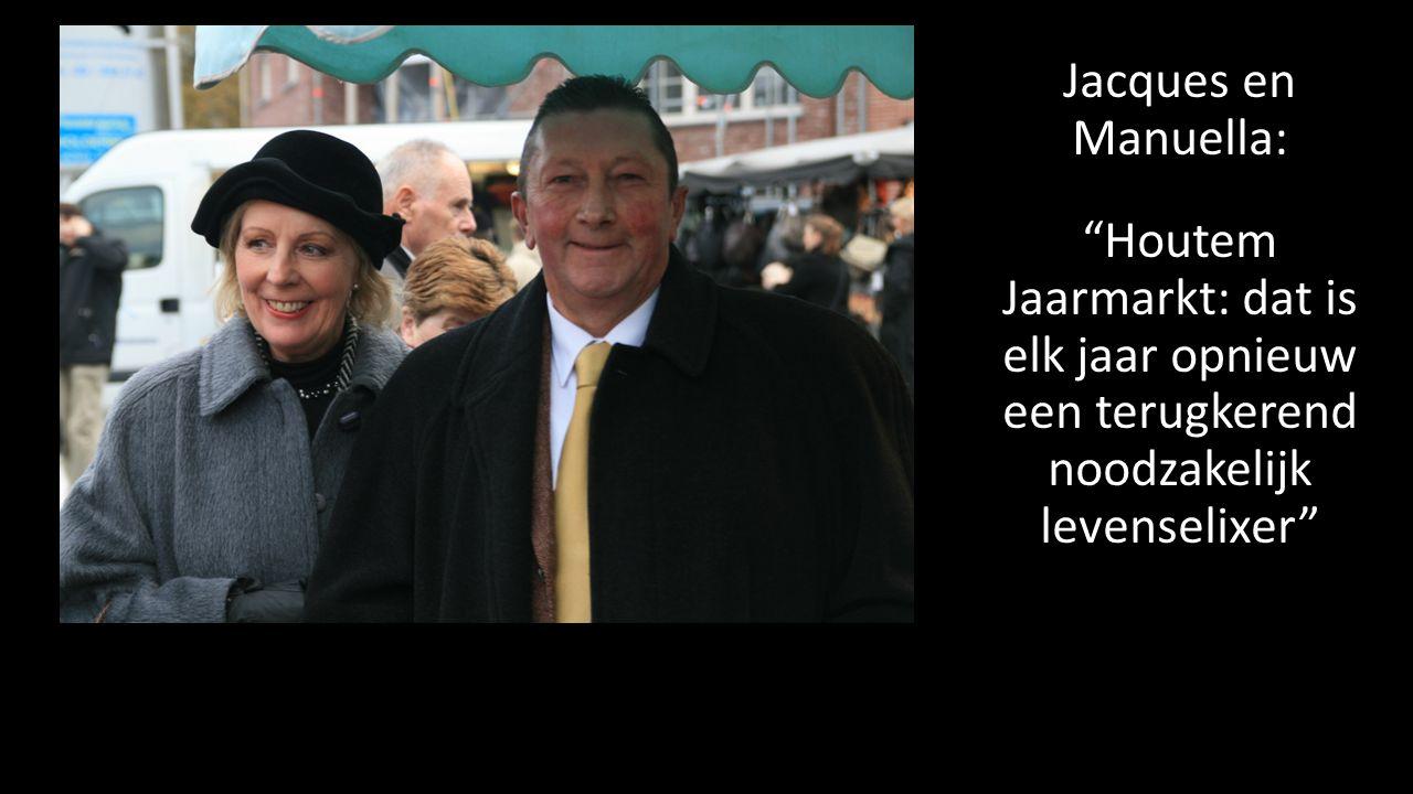 Jacques en Manuella: Houtem Jaarmarkt: dat is elk jaar opnieuw een terugkerend noodzakelijk levenselixer