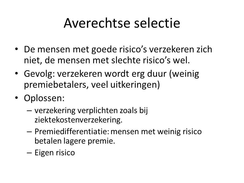 Premie Bereken nu de premie als de verzekeraar € 2 miljoen winst wil maken.